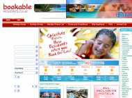 Bookable Holidays website