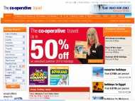 Co-operative Travel website