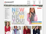 Damart website