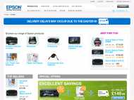 Epson Online Store website