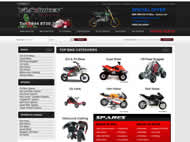Fun Bikes website