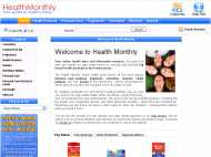 Health Monthly website