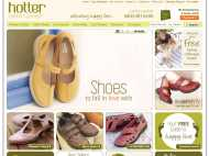 Hotter Shoes website