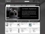 Next Domestic Appliances website