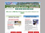 NGC Golf website