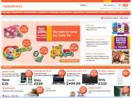 Sainsburys website