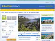 Shearings Holidays website