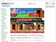 Shedstore website