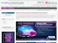 Simply Electricals website
