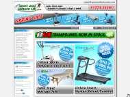 Sport and Leisure UK website
