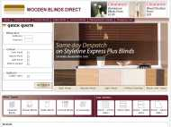 Wooden Blinds Direct website
